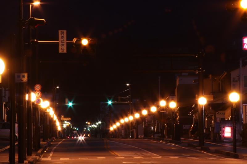 007 日光市街メイン通りの街灯(1)