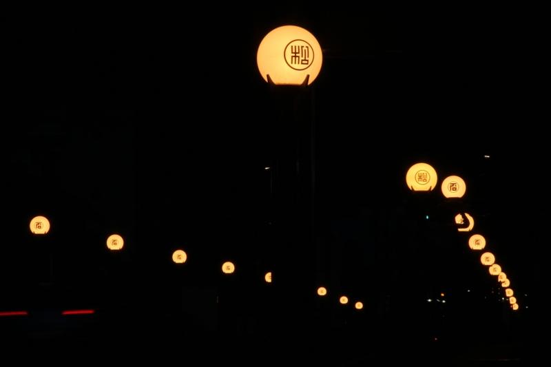 012 日光市街メイン通りの街灯(2)